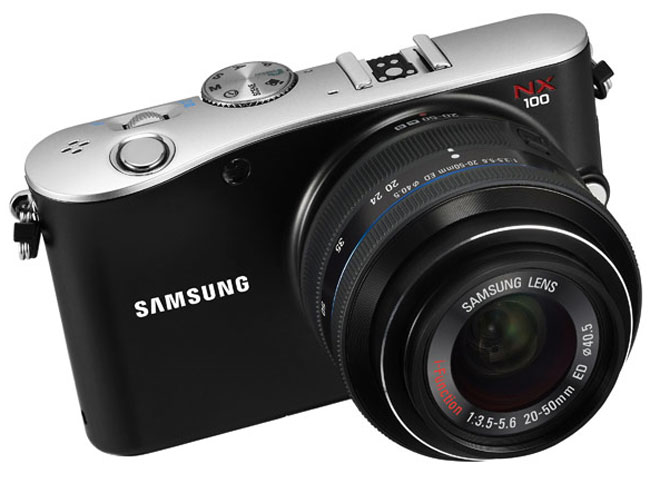 Samsung NX100 Gets Official