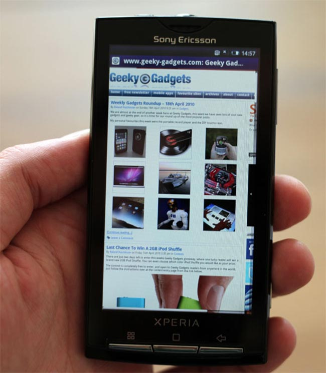 Sony Ericsson Xperia X10 Android 2.1 Update Delayed Until October