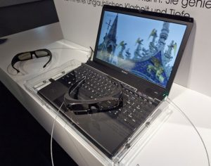 Sony Shows Off 3D Vaio Notebook