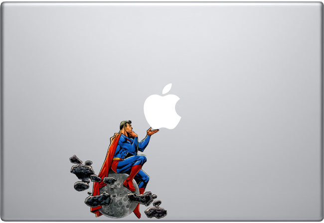 superman Macbook Decal