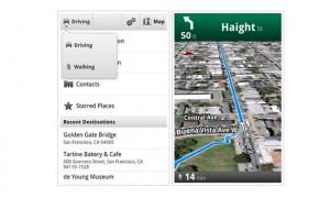 walking navigation