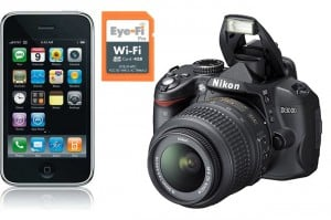Wireless Photography Using Eye-Fi A DSLR And Your iOS Device