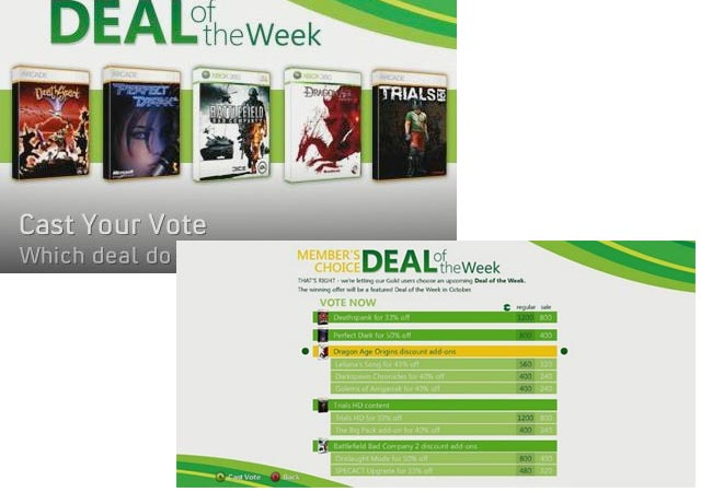 xbox vote deal of the week