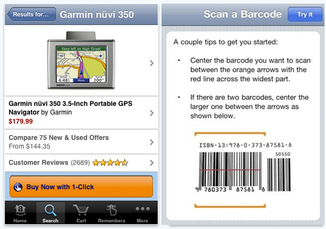 Amazon bar code scanner