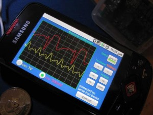 Android Wireless Oscilloscope