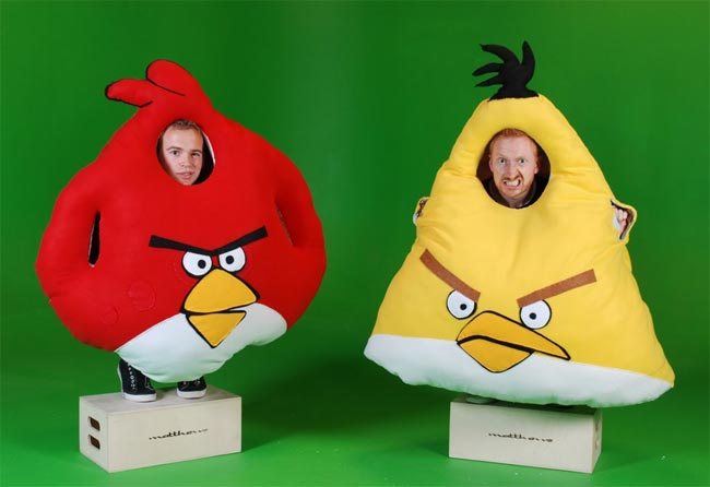 Life Sized Angry Birds Halloween Costumes