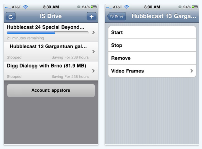 BitTorrent iPhone App IS Drive