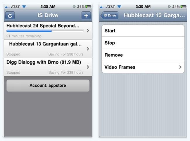 BitTorrent iPhone App IS Drive
