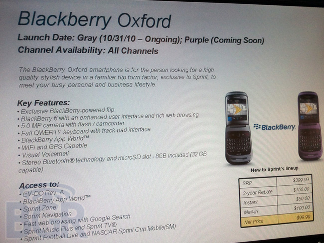 Blackberry Oxford