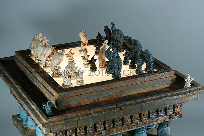 Blade Runner Chess Set