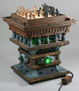 DIY Blade Runner Chess Set