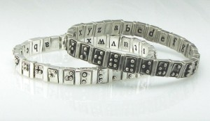Award-Winning Braille Bracelet