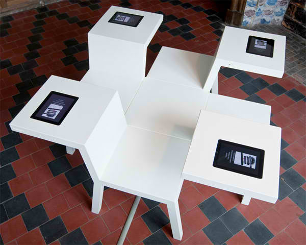 These Salsa Tables Are Built For Tablet Worship