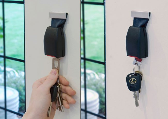 Buckler Wall Key Holder