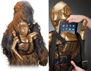 C-3PO Bespin Backpack from ThinkGeek Ships