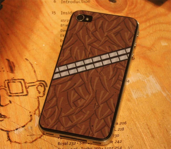 Chewbacca Wookie iPhone 4 Decal