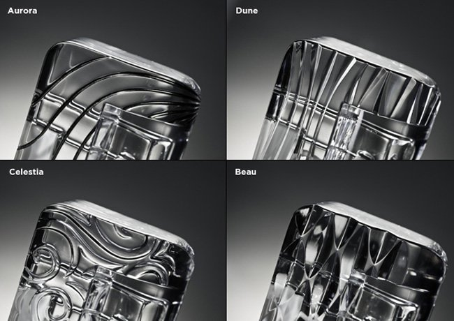 Crystal iPhone Dock