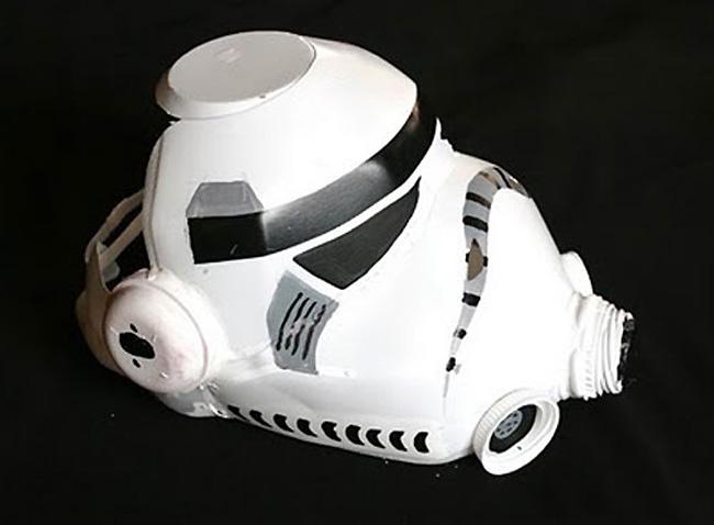DIY Storm Trooper Helmet