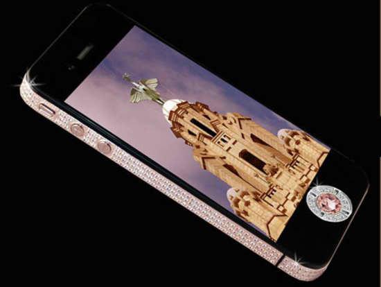 Diamond Studded iPhone