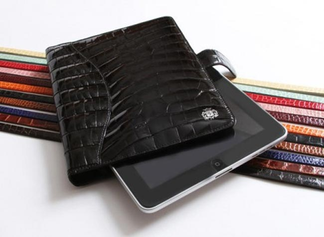 Domenico Vacca Alligator iPad Case, Yours for $3,900