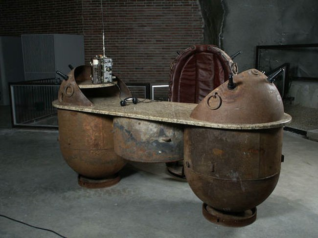 Furniture Created From Soviet Naval Mines