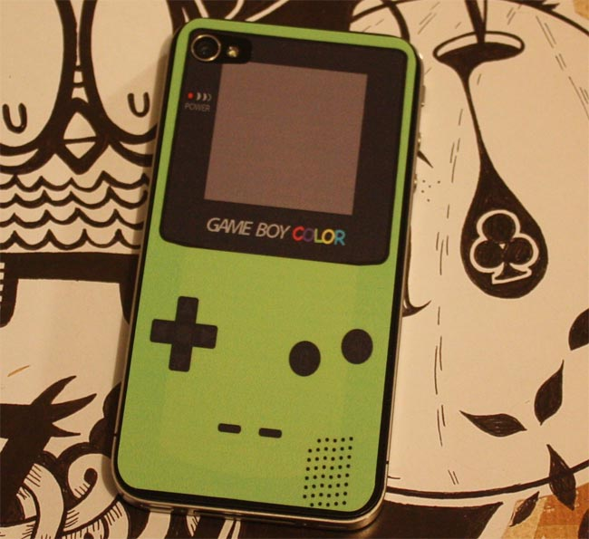 Game Boy Color iPhone 4 Decal