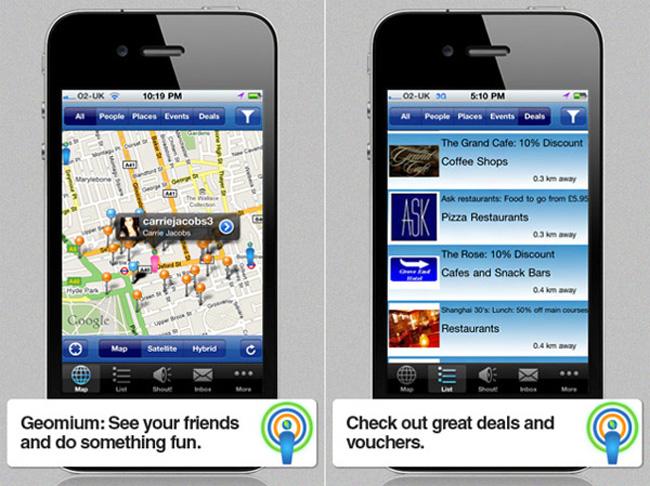 Geomium iPhone App