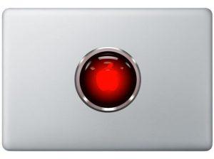 Hal 9000 MacBook Decal