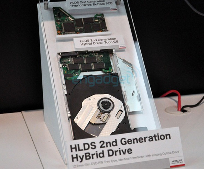 Hitachi-LG Unveil Next Generation Hybrid Optical Drive