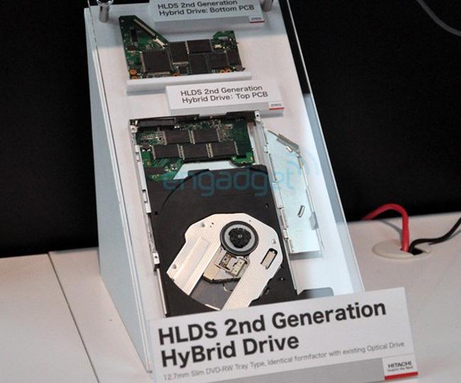 Hitachi-LG Unveil Next Generation Hybrid Optical Drive