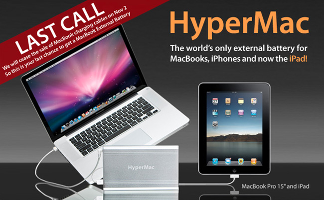 HyperMac Halts MagSafe Sales
