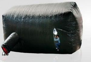 Inflatable Photo Studio (video)