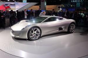 Jaguar C-X75 Electric Supercar (Video)