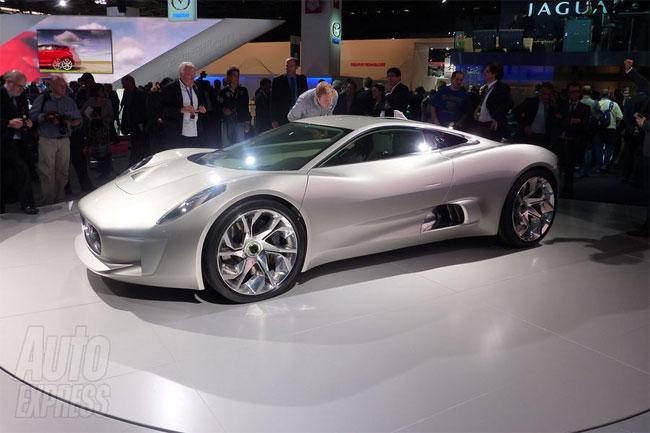 Jaguar C-X75 Electric Supercar