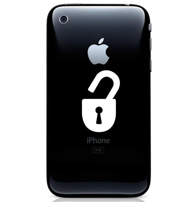 Jailbroken iPhone Decal