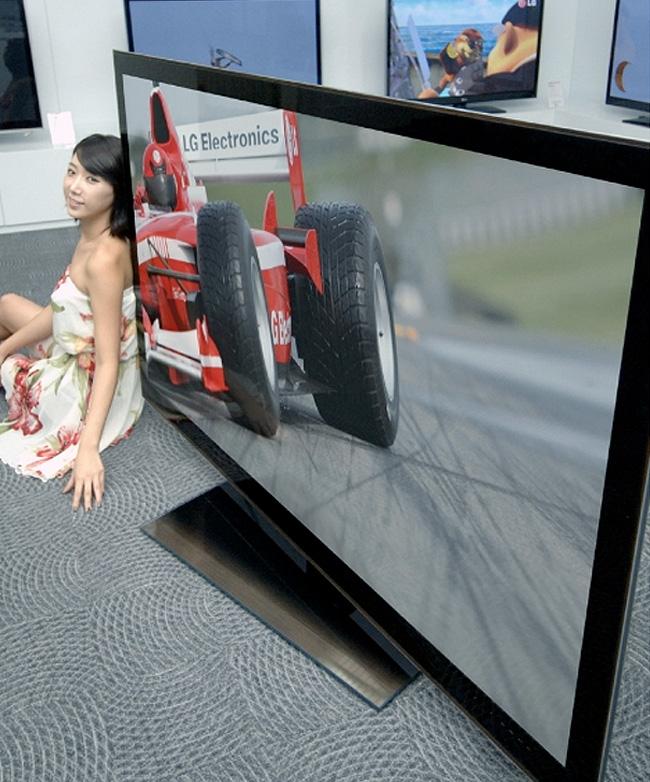 LG Unveils Worlds Largest 3D TV