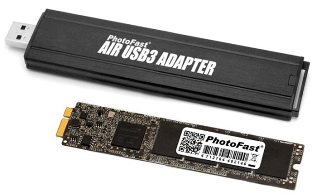MacBook Air Upgrade Kit Gives You a 256GB SSD