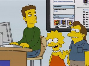 Mark Zuckerberg Makes A Simpsons Cameo Appearance (video)