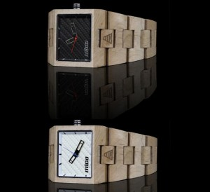 Mica Plank Wooden Watch