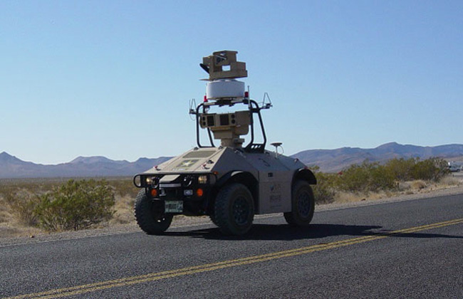 Nevada Nuke Site Now Guarded By Robots