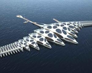 Morphotel Concepts Looks Like An Alien Seacraft