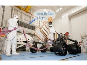 Watch Construction of NASA Mars Rover, Live!