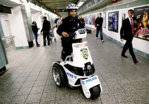 T3 Scooters Are The Vehicle Of Choice For New York Subway Cops