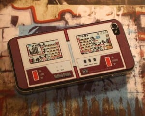 Nintendo Game And Watch iPhone 4 Decals