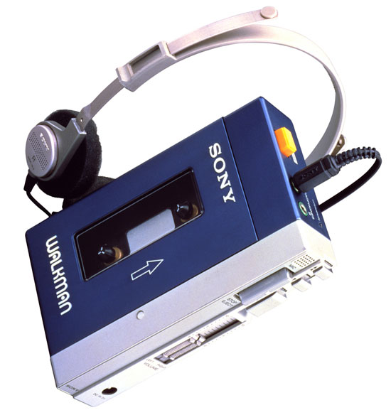 Oldschool Sony Walkman
