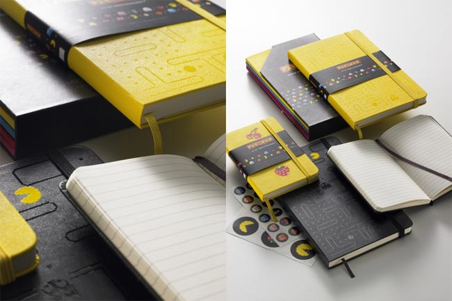 Limited Edition Pac-Man Moleskine Notebooks
