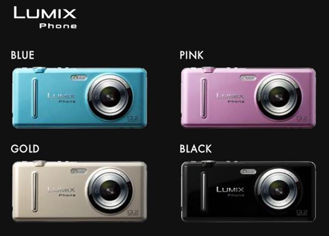 Panasonic Lumix Phone Gets Official