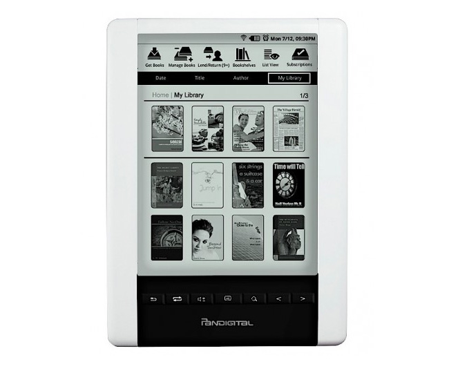 Pandigital Novel eReader