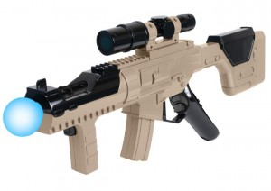 PlayStation Move Submachine Gun Controller From CTA Digital