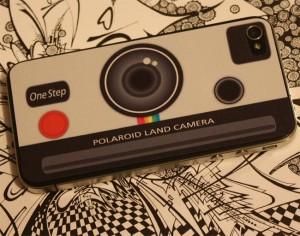 Polaroid Land Camera iPhone 4 Decal